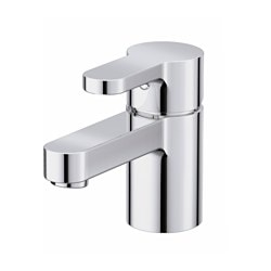 ENSEN wash-basin mixer tap with strainer, chrome-plated Height: 12 cm