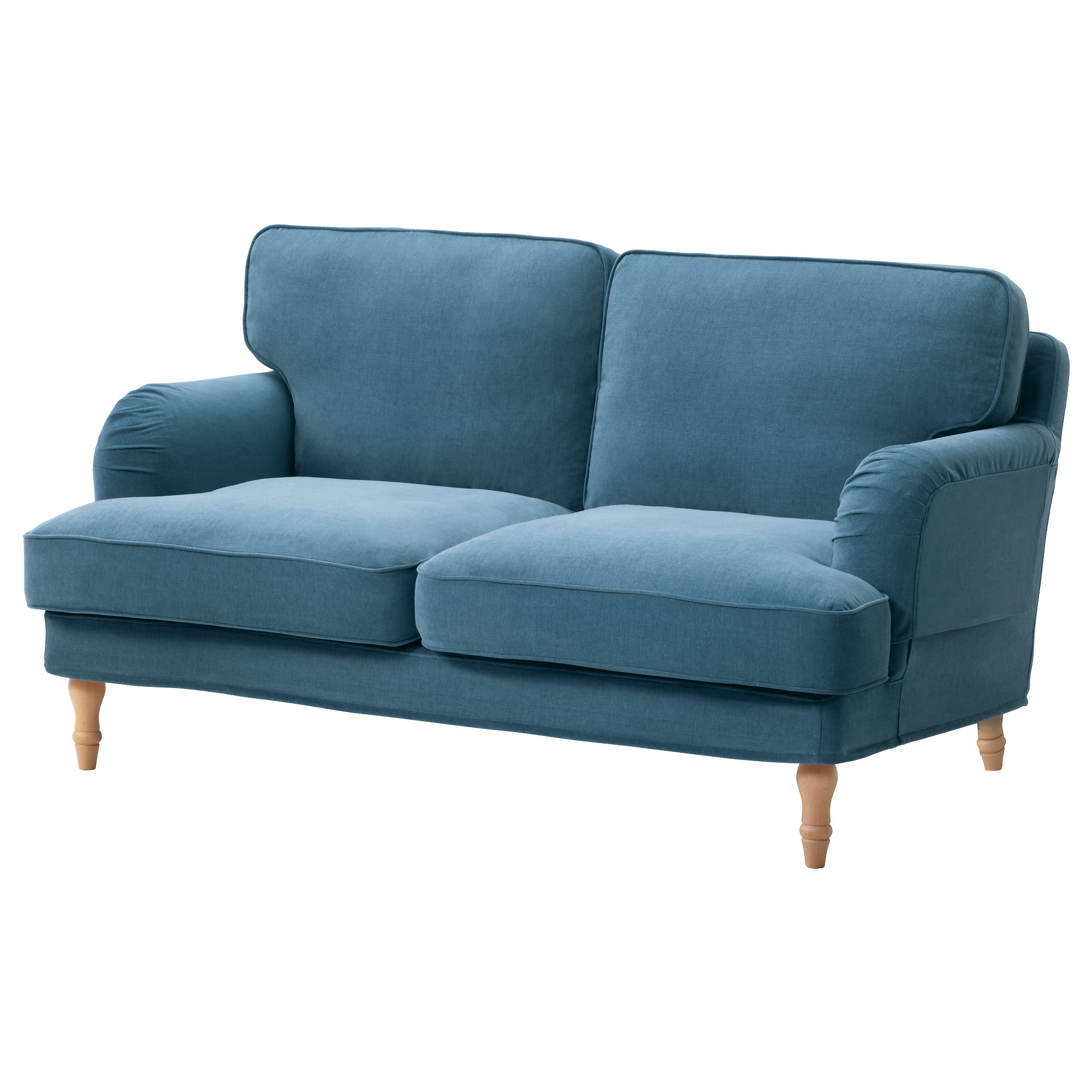 STOCKSUND Loveseat cover Ljungen blue IKEA