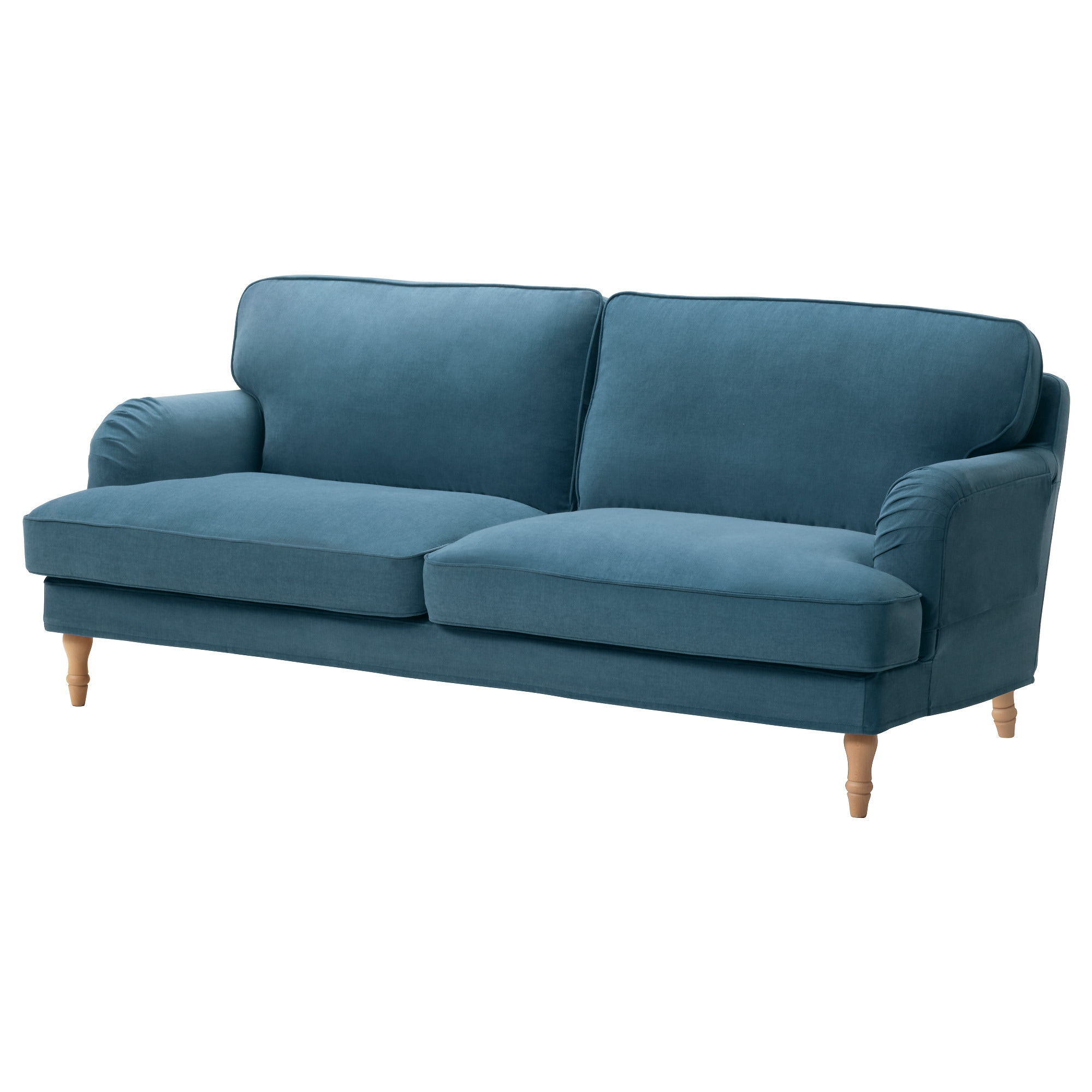 Blue Sofas Ikea Stocksund Sofa Remvallen Blue White Light Brown Ikea Thesofa