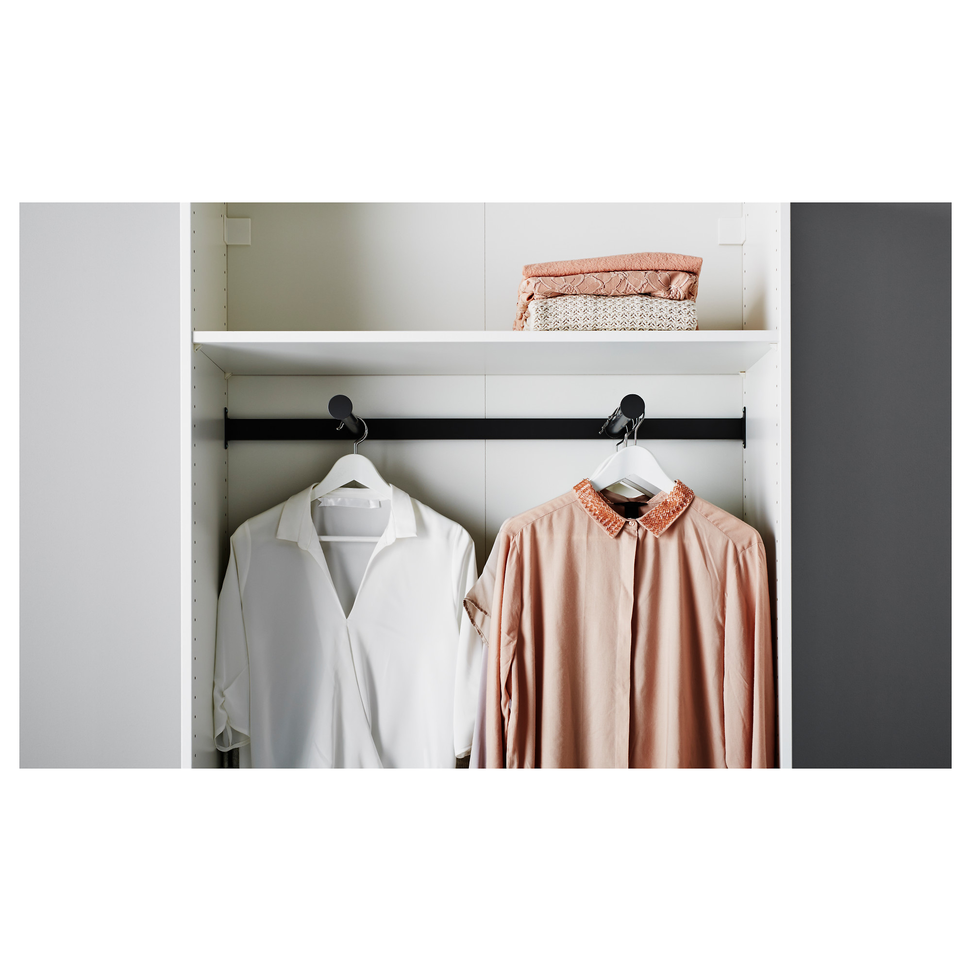 Komplement pull out clothes rail 100x35 cm ikea sisterspd
