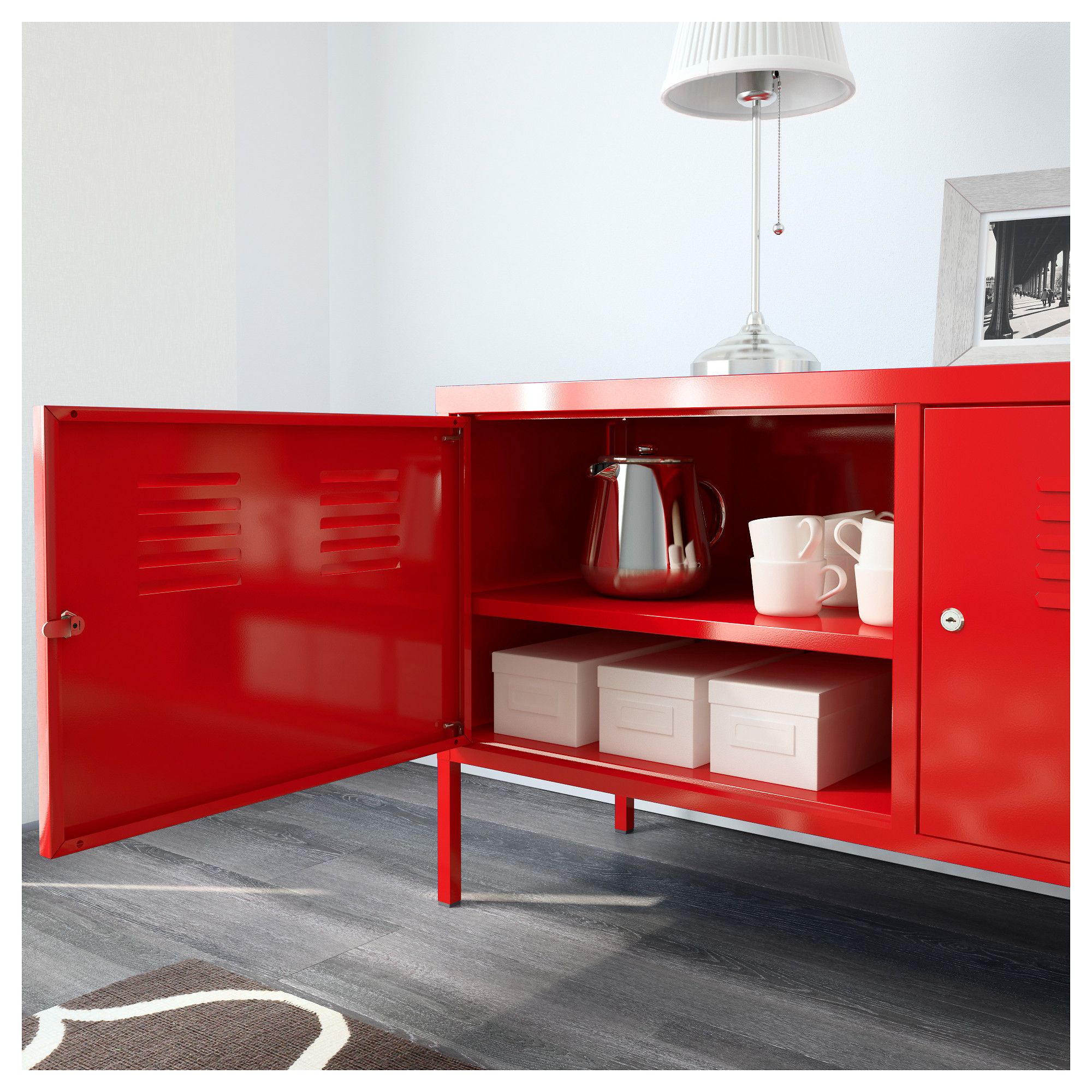 IKEA PS Cabinet - red - IKEA