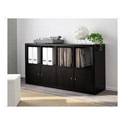 Great KALLAX Shelf Unit   Black Brown   IKEA