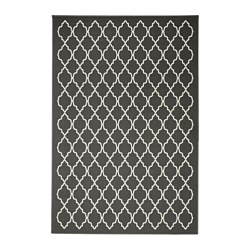 HOVSLUND rug, low pile, dark gray
