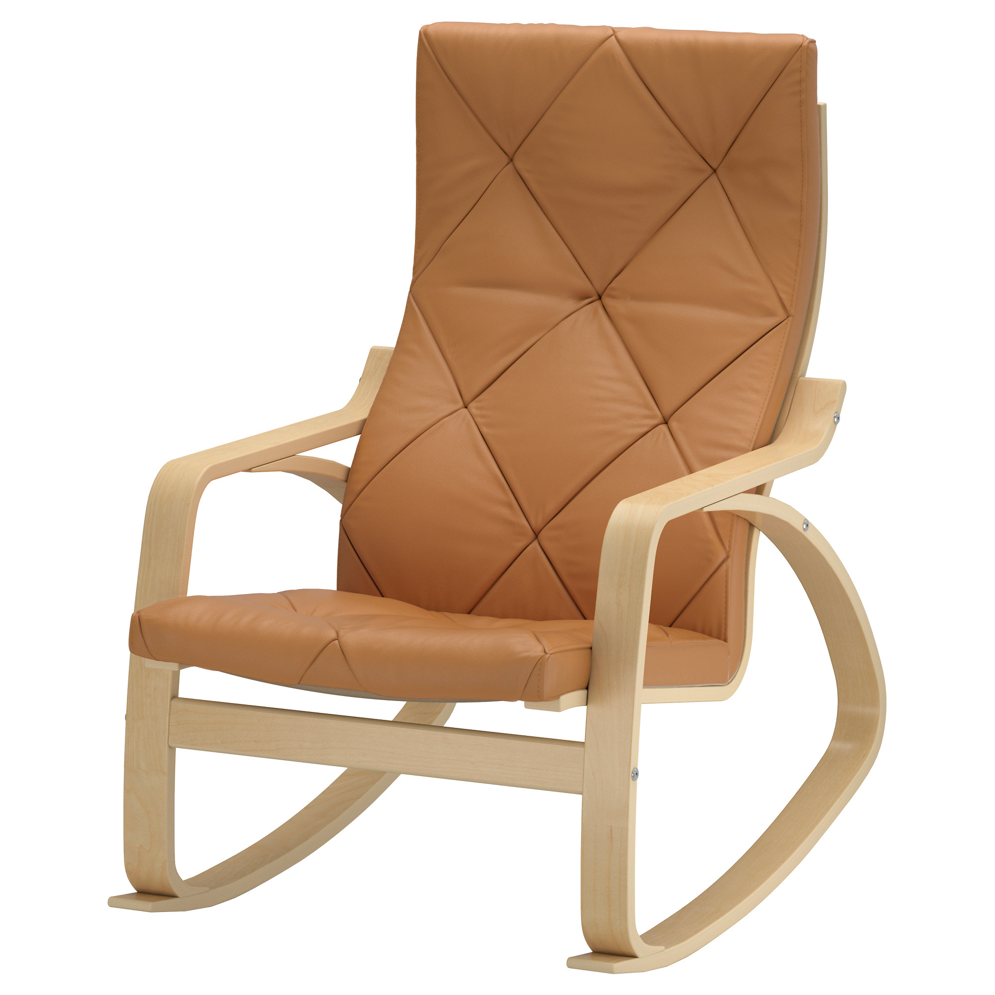 "PO""NG Rocking chair Seglora natural IKEA"