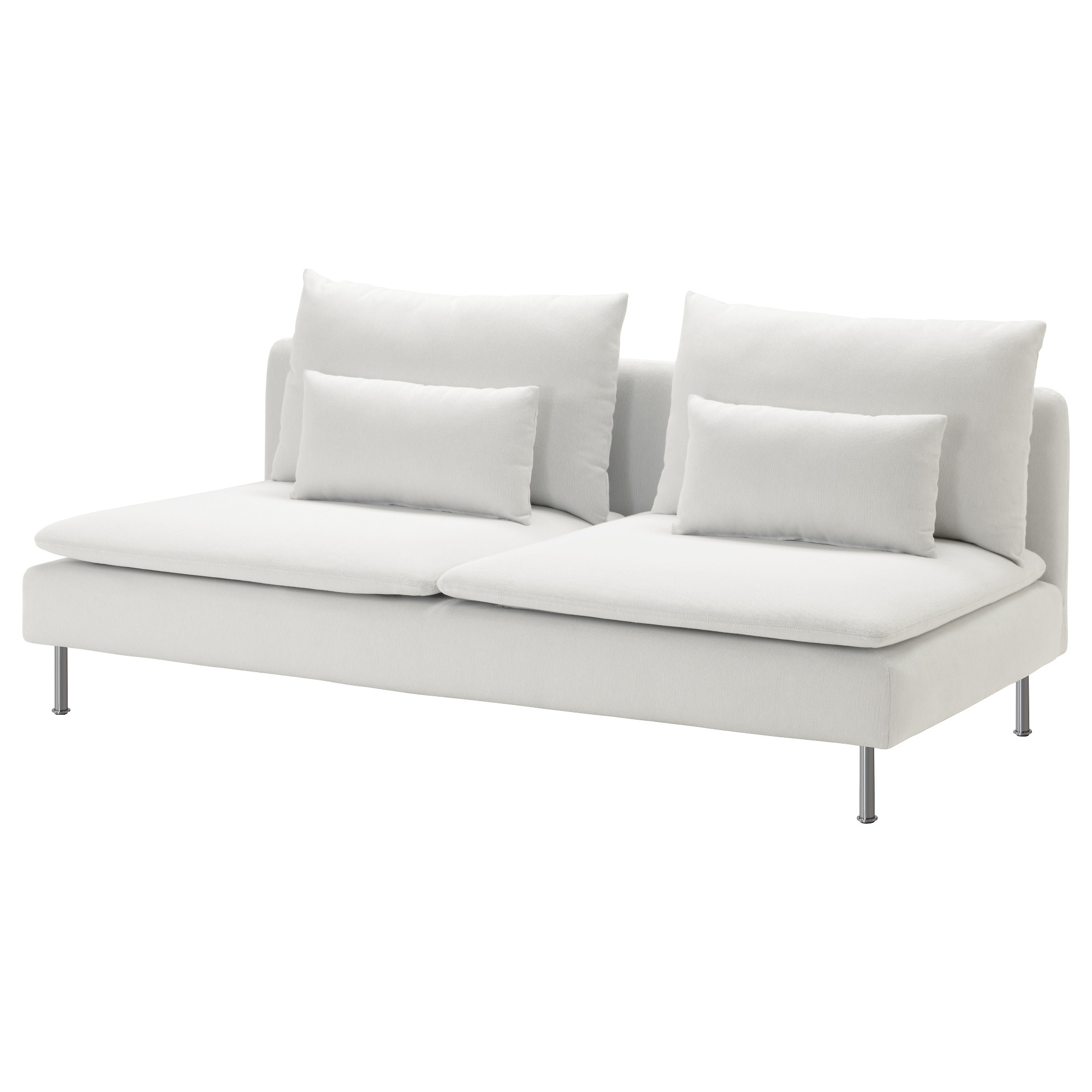 Couch Depth sÖderhamn sofa section - finnsta white - ikea