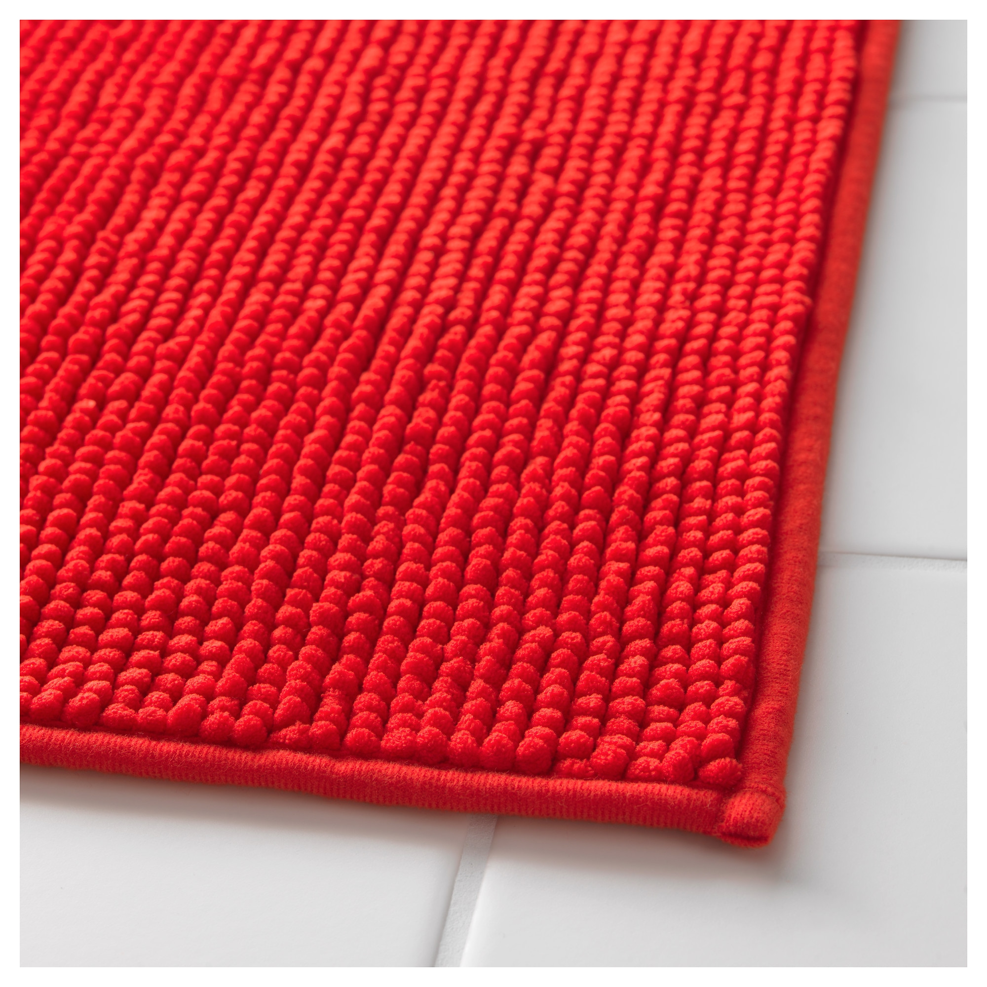 BADAREN Bath Mat IKEA - Bright bath mat for bathroom decorating ideas