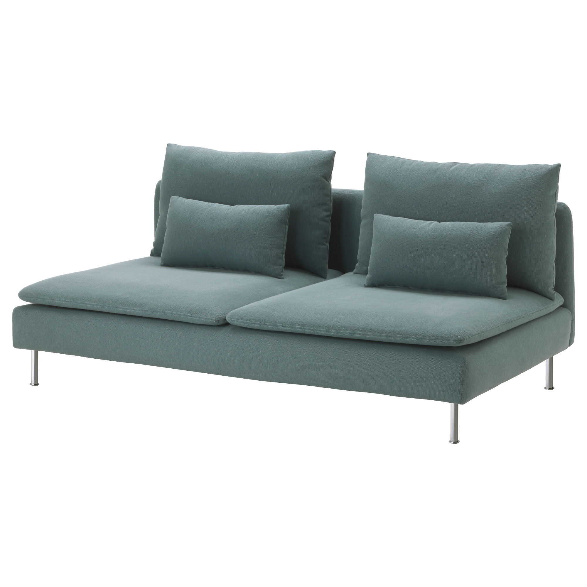 S–DERHAMN Sofa section Samsta dark gray IKEA