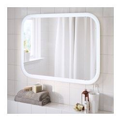 ... Bathroom Mirrors. STORJORM Mirror With Built In Light ...