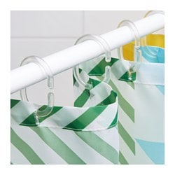 RingsjÖn Shower Curtain Rings Clear