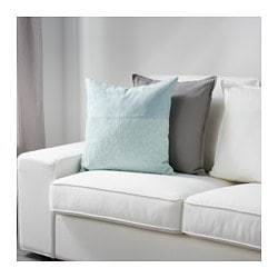 fj lltrav cushion cover turquoise ikea. Black Bedroom Furniture Sets. Home Design Ideas