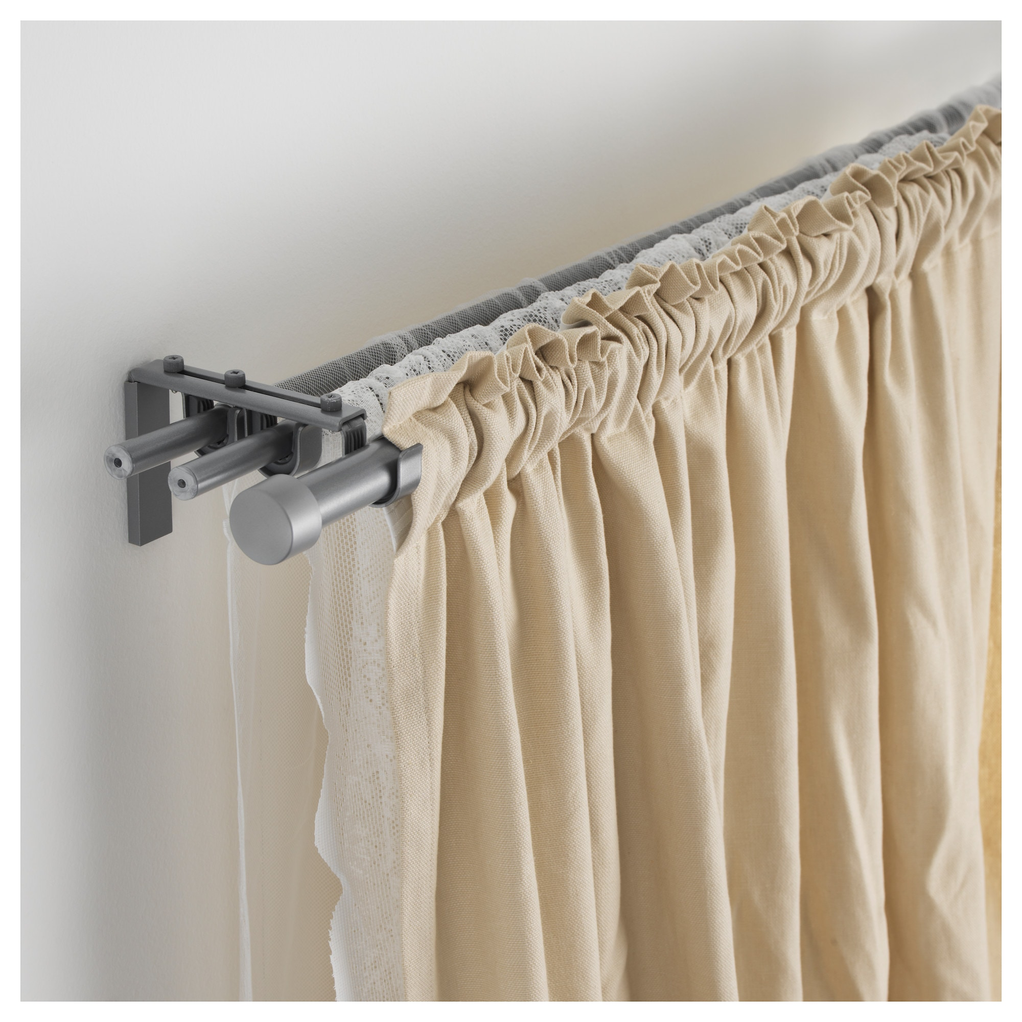 Hugad Curtain Rod White 83 152 Ikea