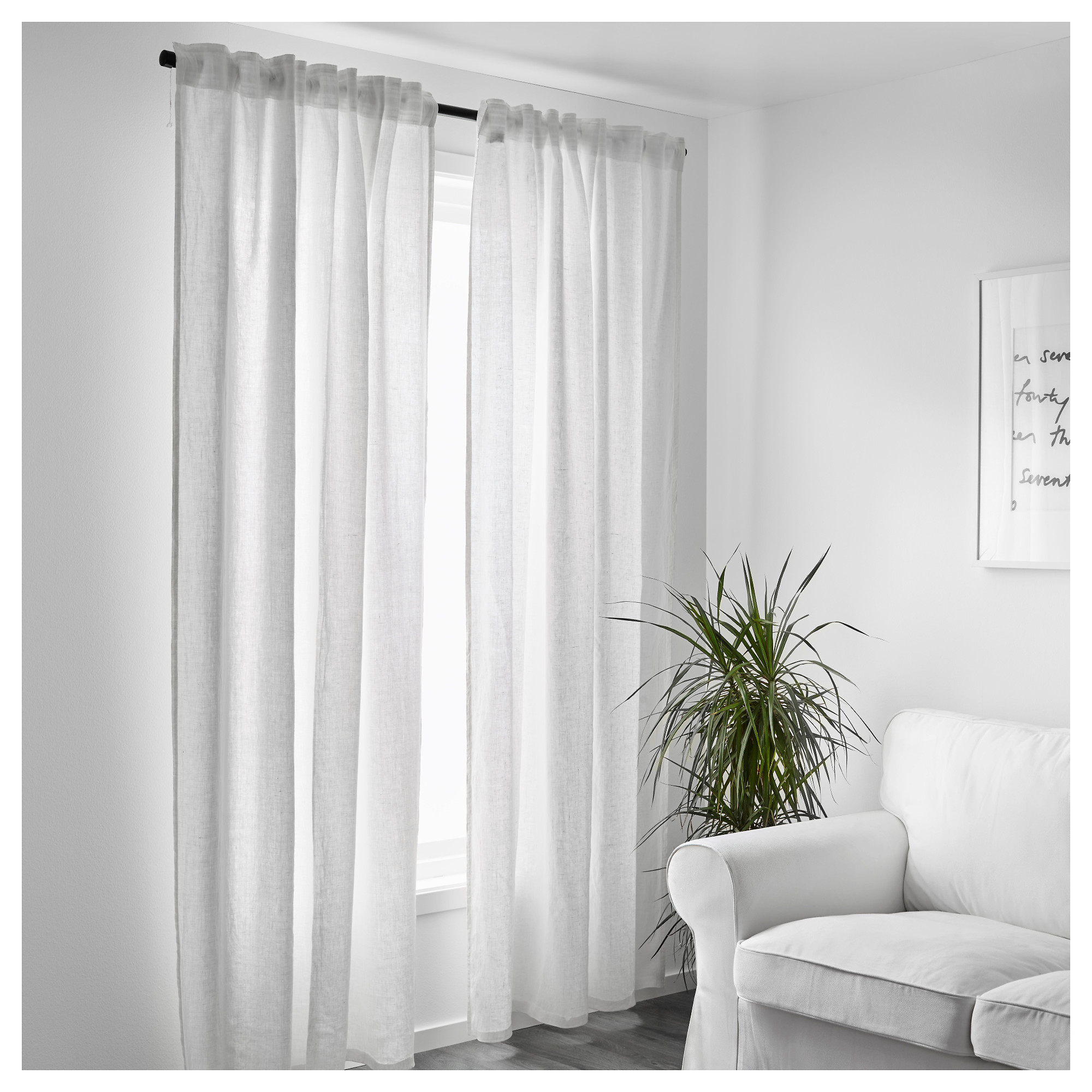 Aina Curtains Pair Ikea