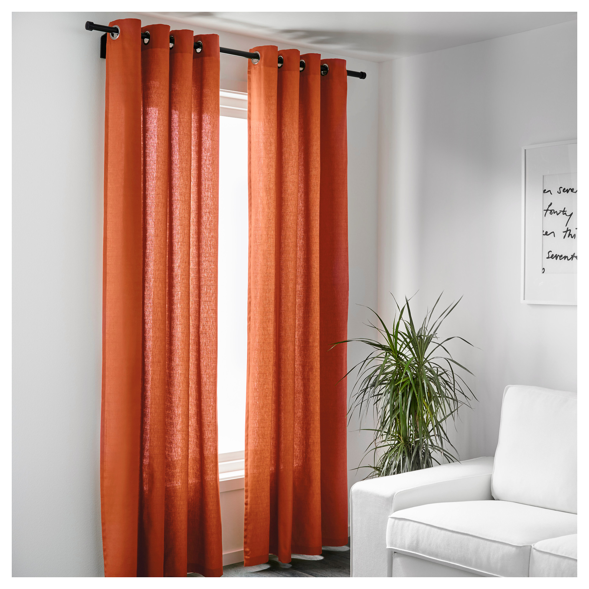 striped garden pair home tone curtain grommet curtains panel ati top with window product chateau