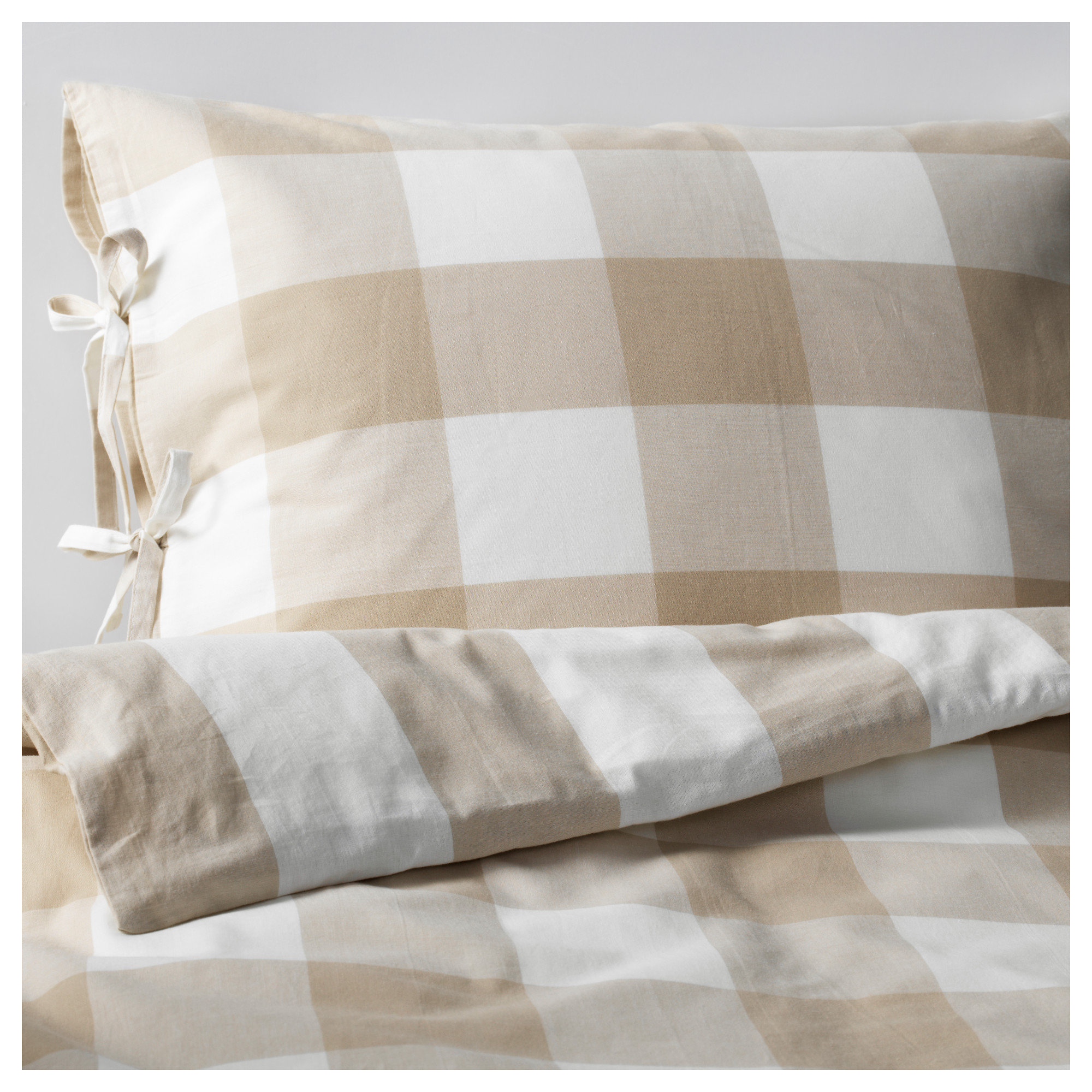 emmie ruta duvet cover and pillowcases beige white thread count