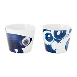 GILTIG mug, assorted patterns Height: 8 cm Volume: 40 cl