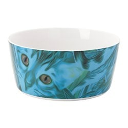 GILTIG serving bowl, cat Diameter: 17 cm Height: 8 cm
