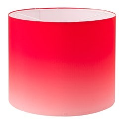 "GILTIG shade, red Diameter: 15 "" Height: 12 "" Diameter: 37 cm Height: 30 cm"