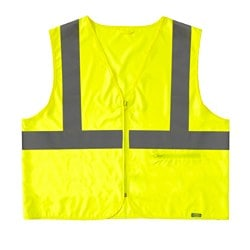 BESKYDDA high visibility vest, L/XL, yellow