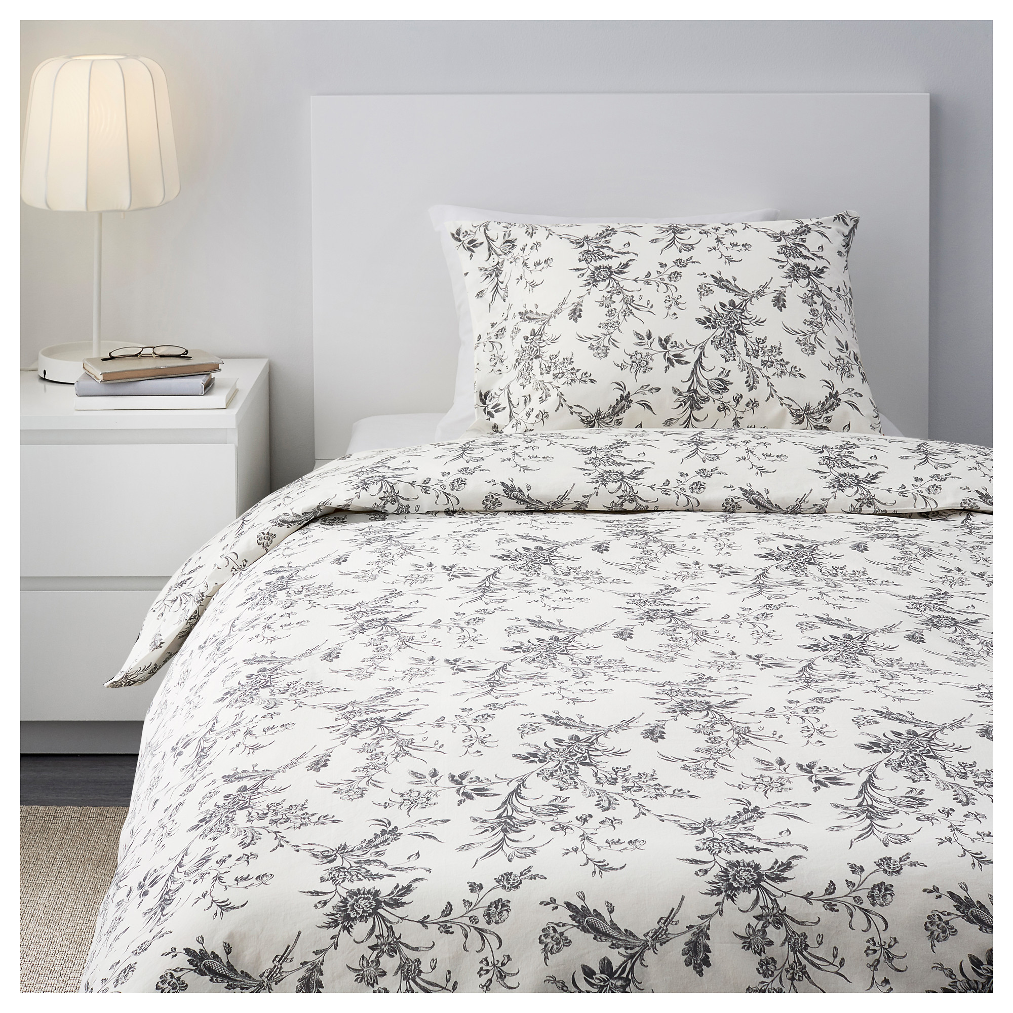 ALVINE KVIST Duvet cover and pillowcase s Twin IKEA