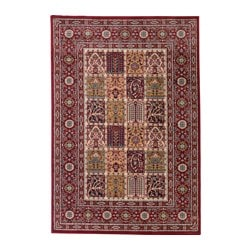 "VALBY RUTA rug, low pile, multicolor Length: 6 ' 5 "" Width: 4 ' 4 "" Area: 27.88 sq feet Length: 195 cm Width: 133 cm Area: 2.59 m²"