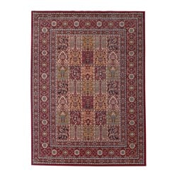 VALBY RUTA rug, low pile, multicolour Length: 230 cm Width: 170 cm Thickness: 15 mm