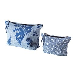 HEMTRAKT trousse, lot de 2, bleu