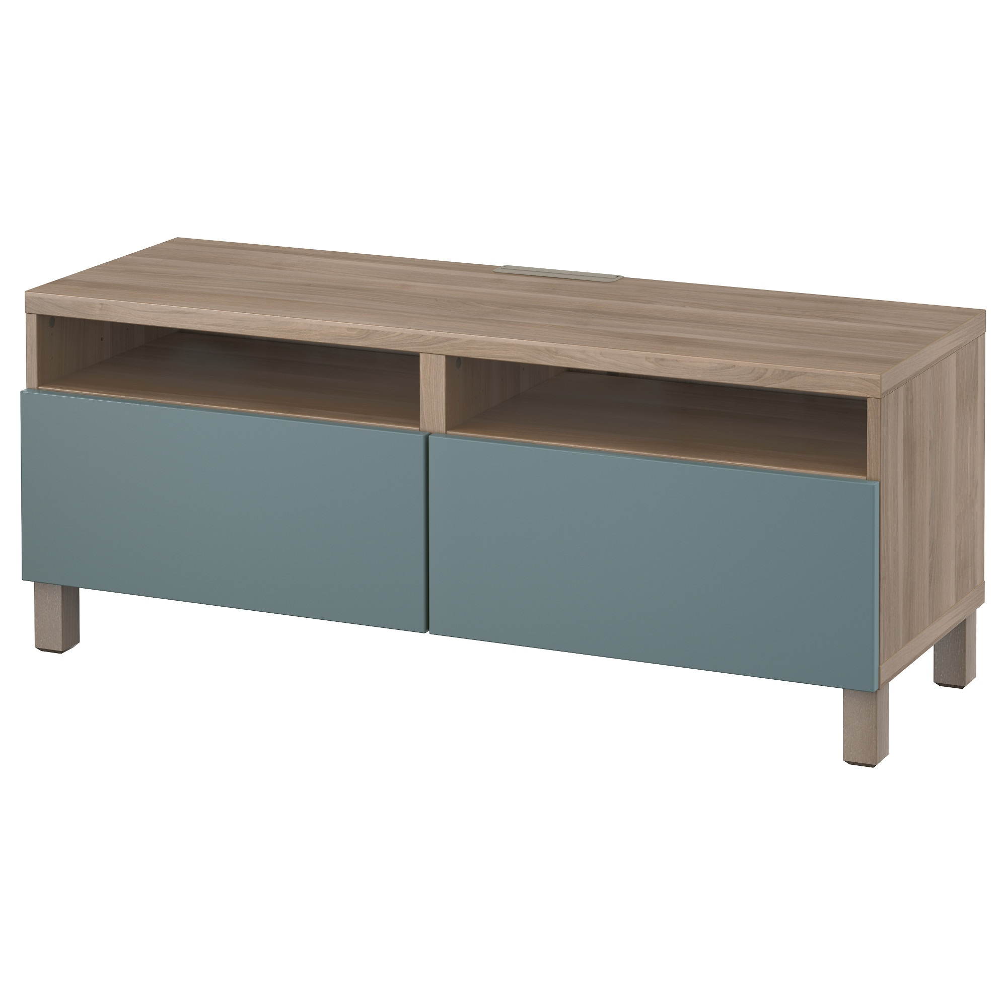 Bestå Tv Unit With Drawers Black Browngrundsviken Dark Gray