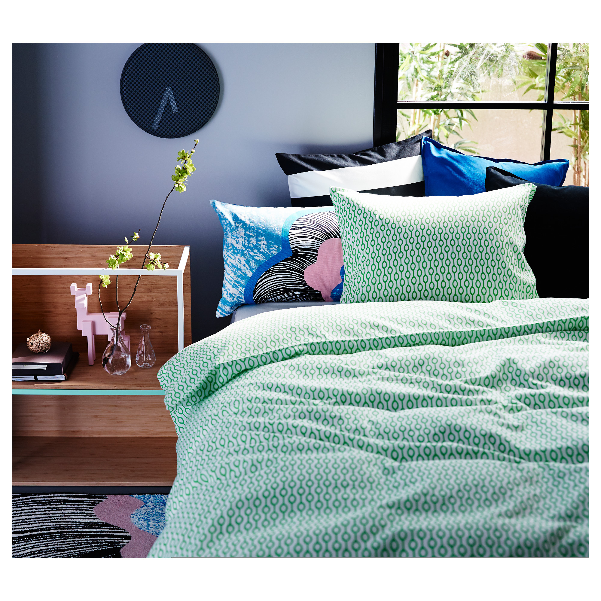 RÖdved Duvet Cover And Pillowcase S Full Queen Double Ikea