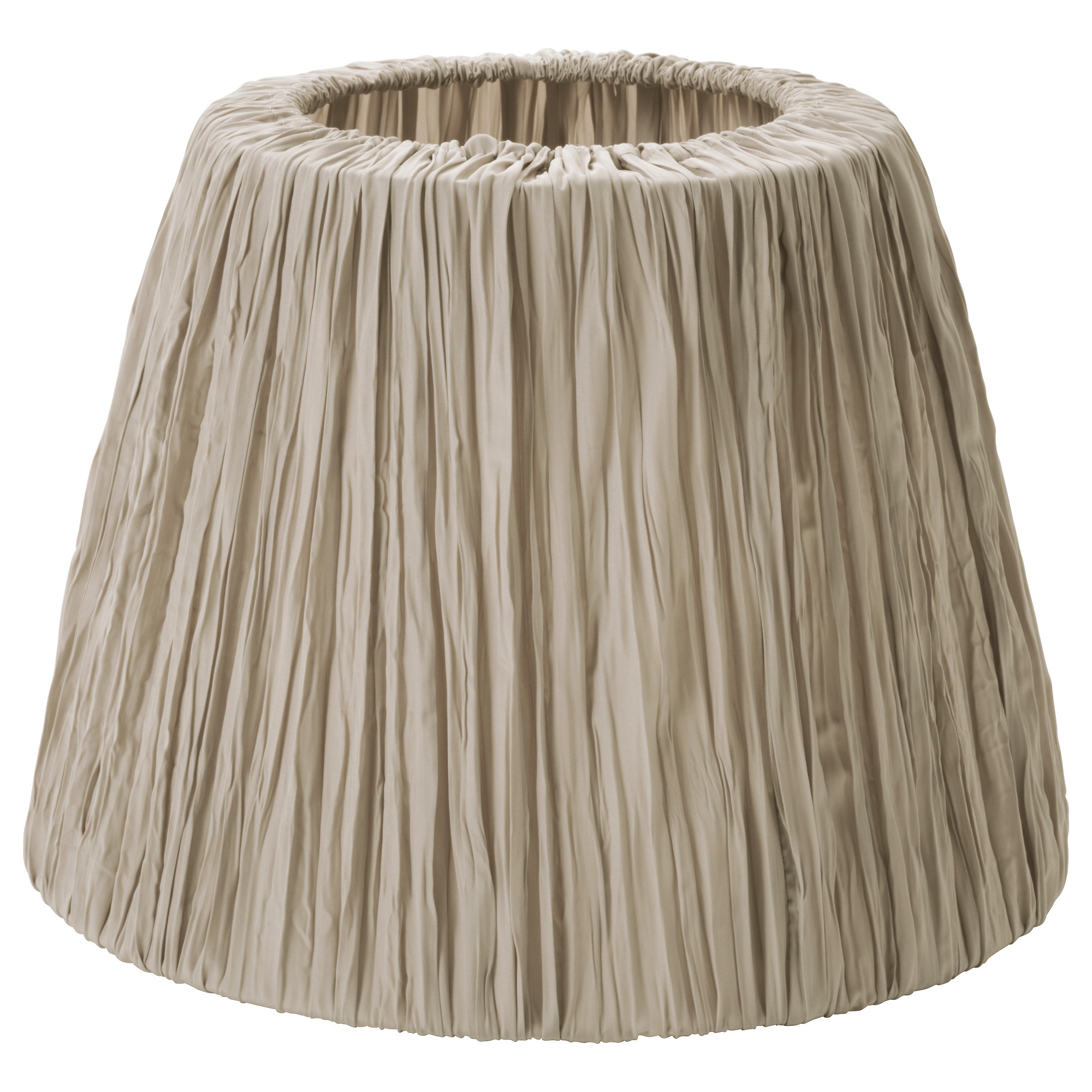 HEMSTA lamp shade, beige Height: 10