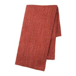 GURLI throw, dark orange