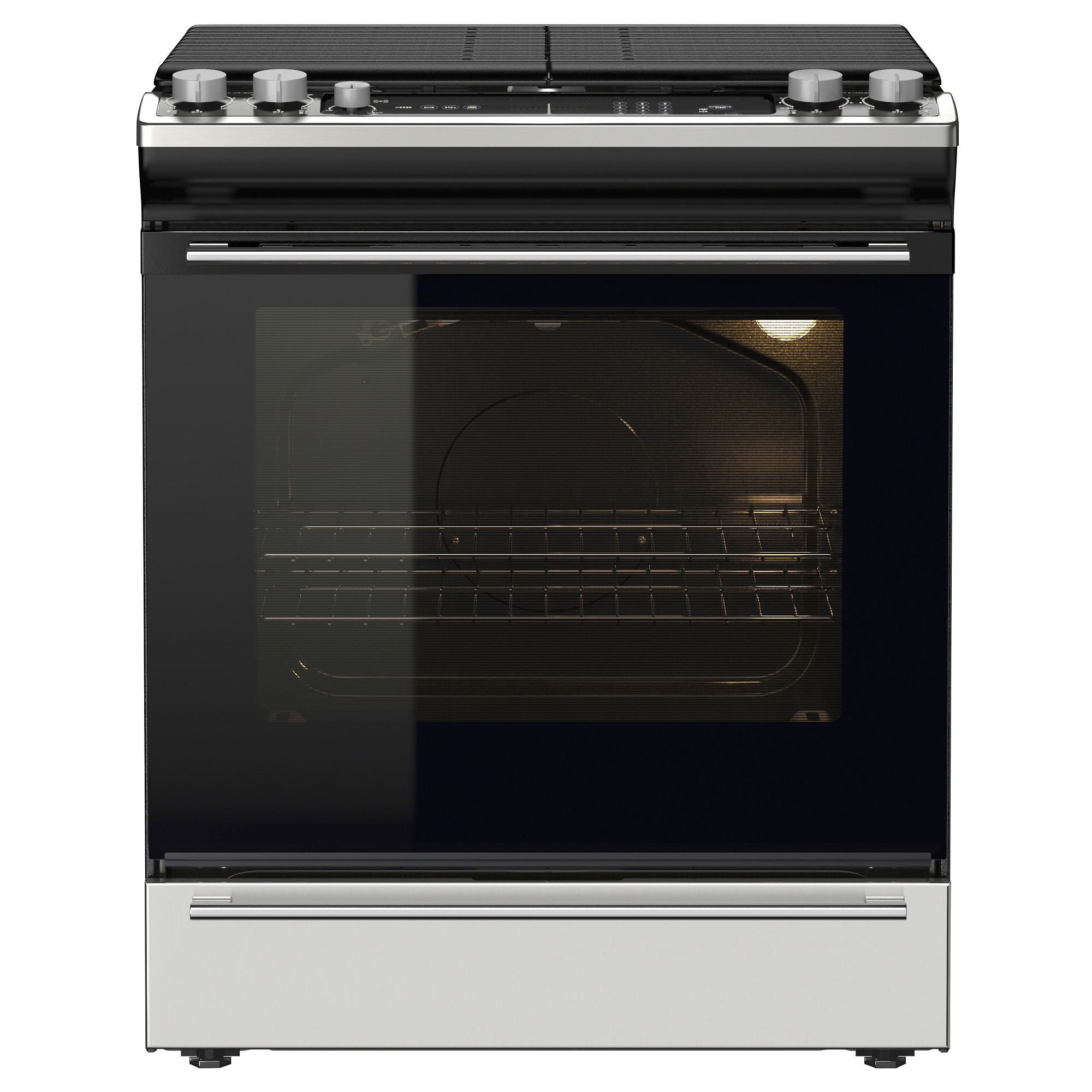 NUTID Slide In Range With Gas Cooktop