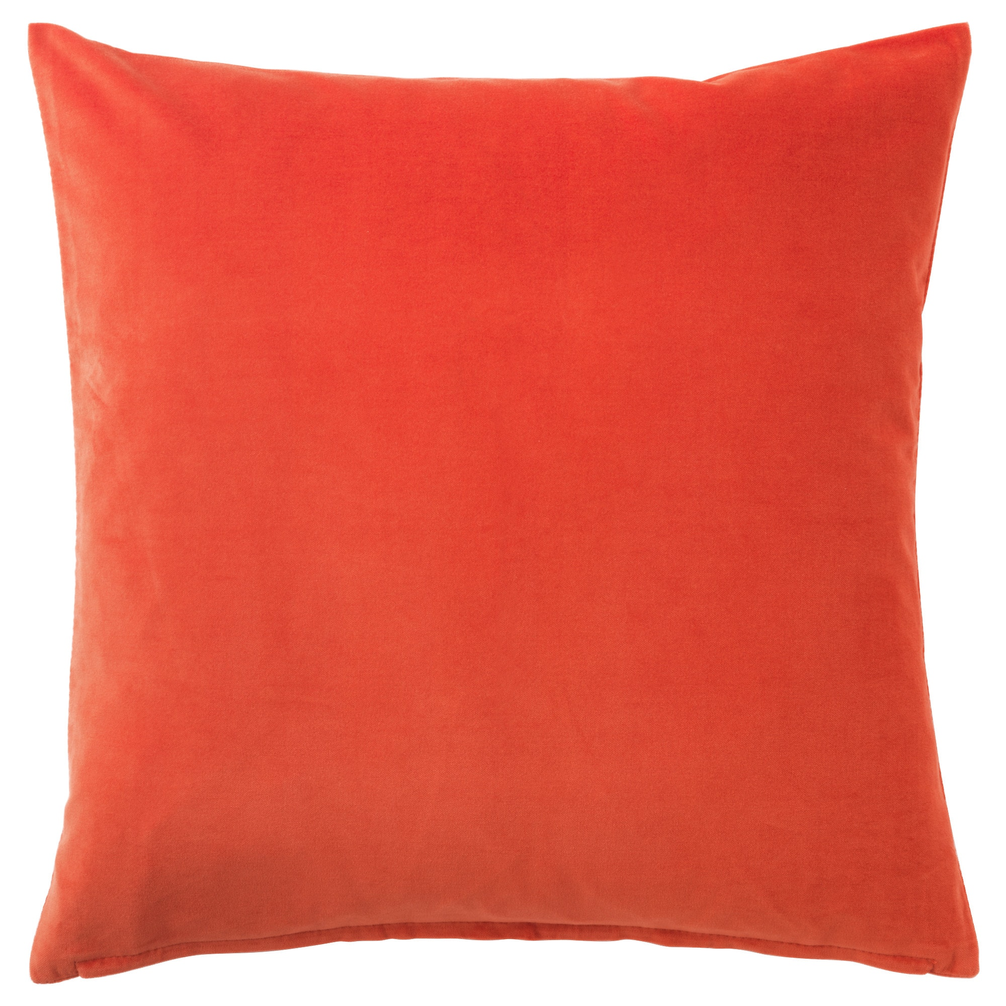 cushions  cushion covers  ikea - sanela cushion cover orange length   width   length