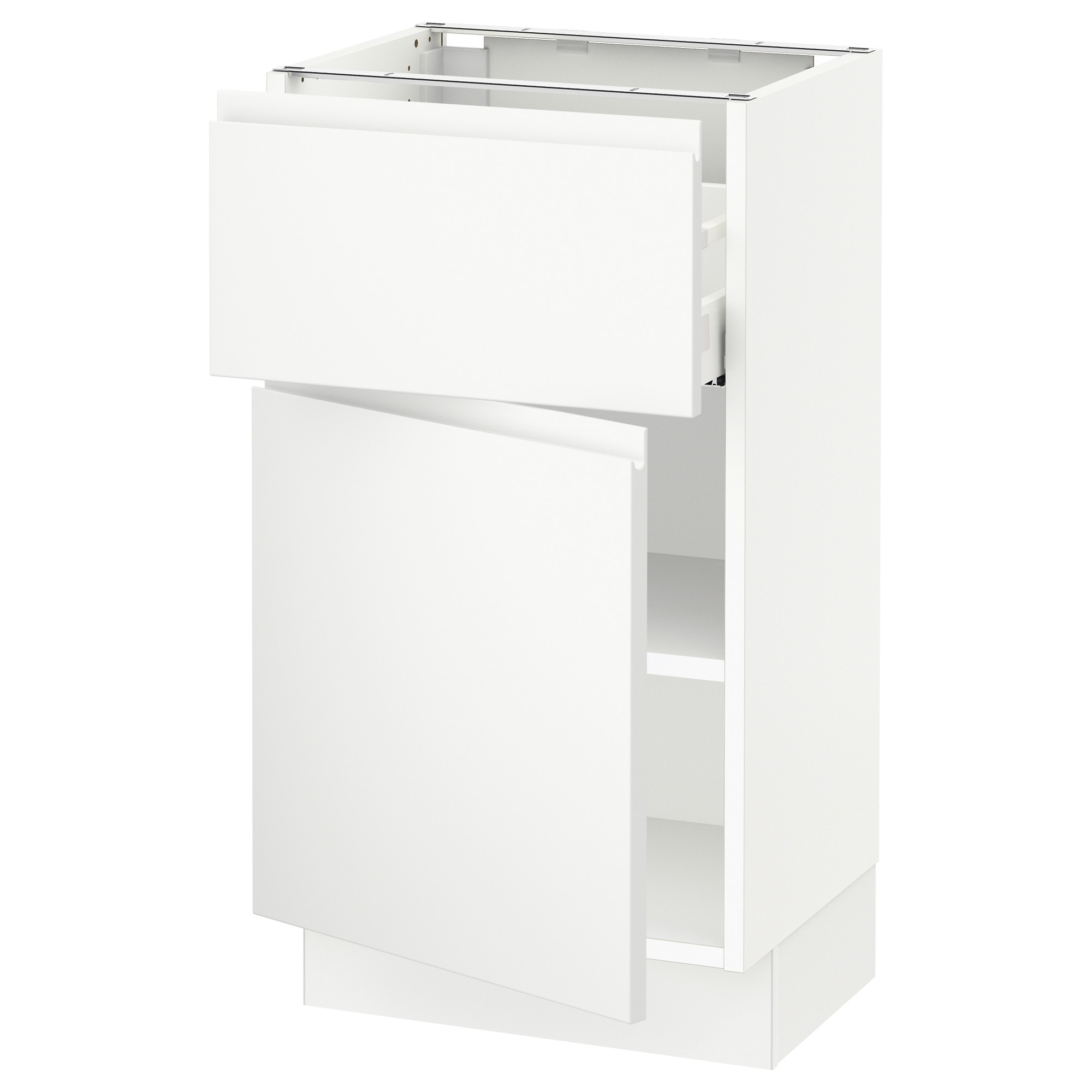 SEKTION Base cabinet with drawer/door - Ma Voxtorp matt white 18x15x30   - IKEA  sc 1 st  Ikea : 24 base cabinet with drawers - Cheerinfomania.Com