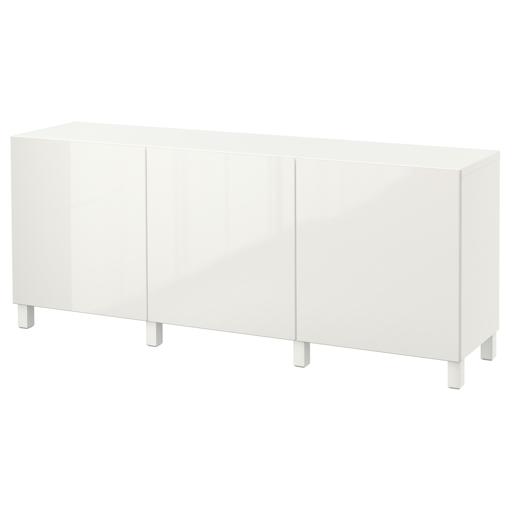 Best Storage Combination With Doors White Selsviken High Gloss White Width
