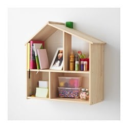 FLISAT Doll House/wall Shelf