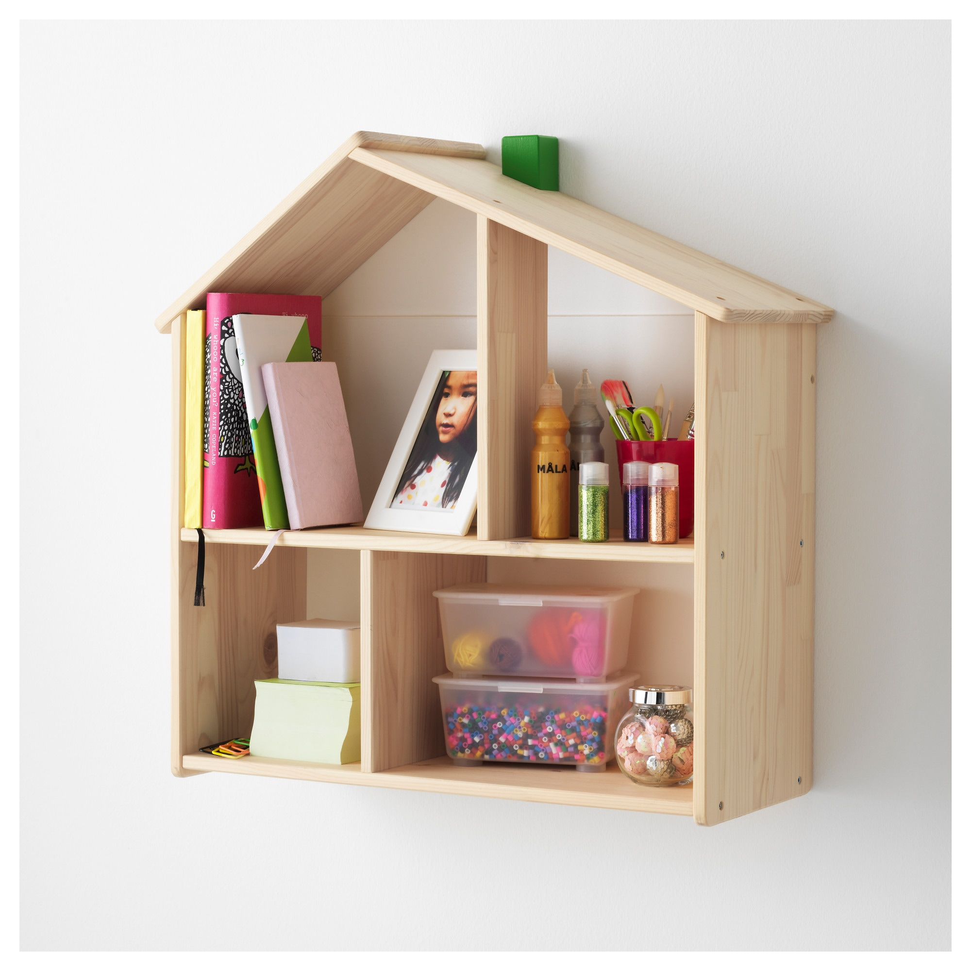 FLISAT Doll house/wall shelf - IKEA