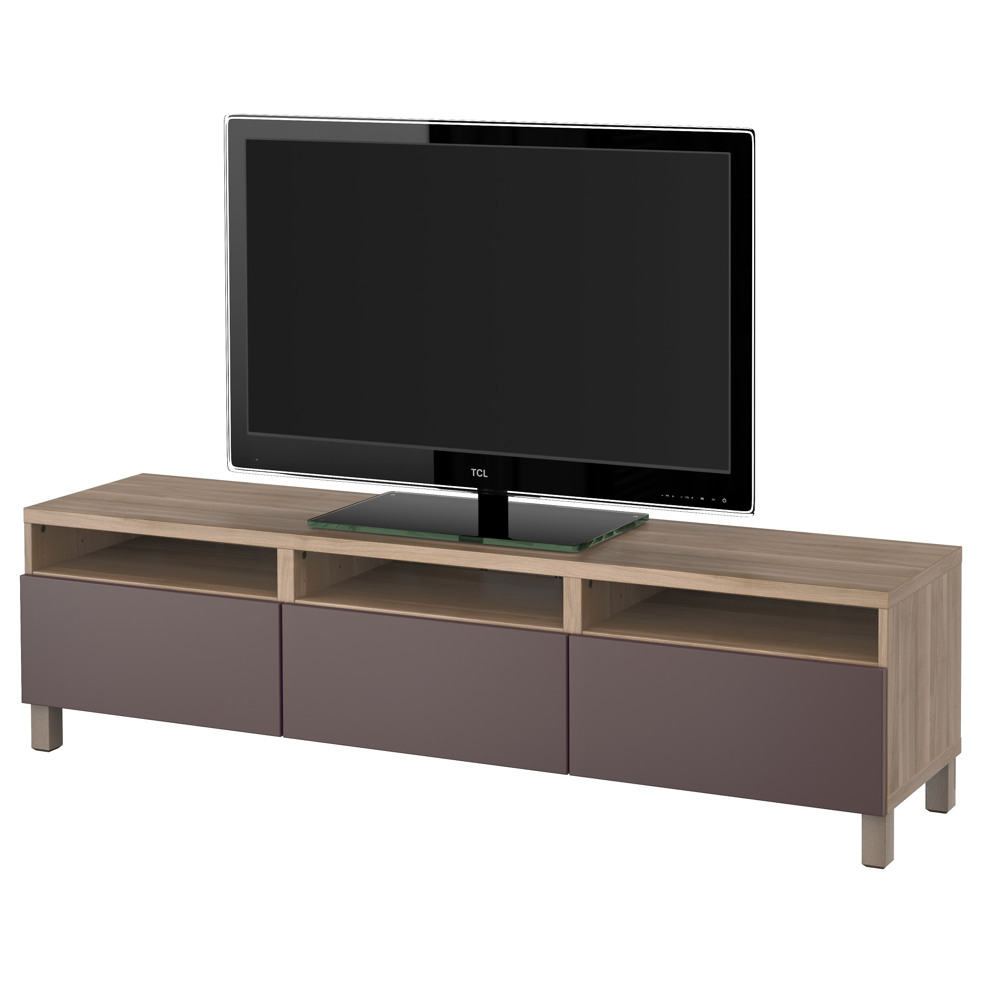 Ikea meuble tv blanc brusali banc tv meuble tv - Meuble support tv ikea ...