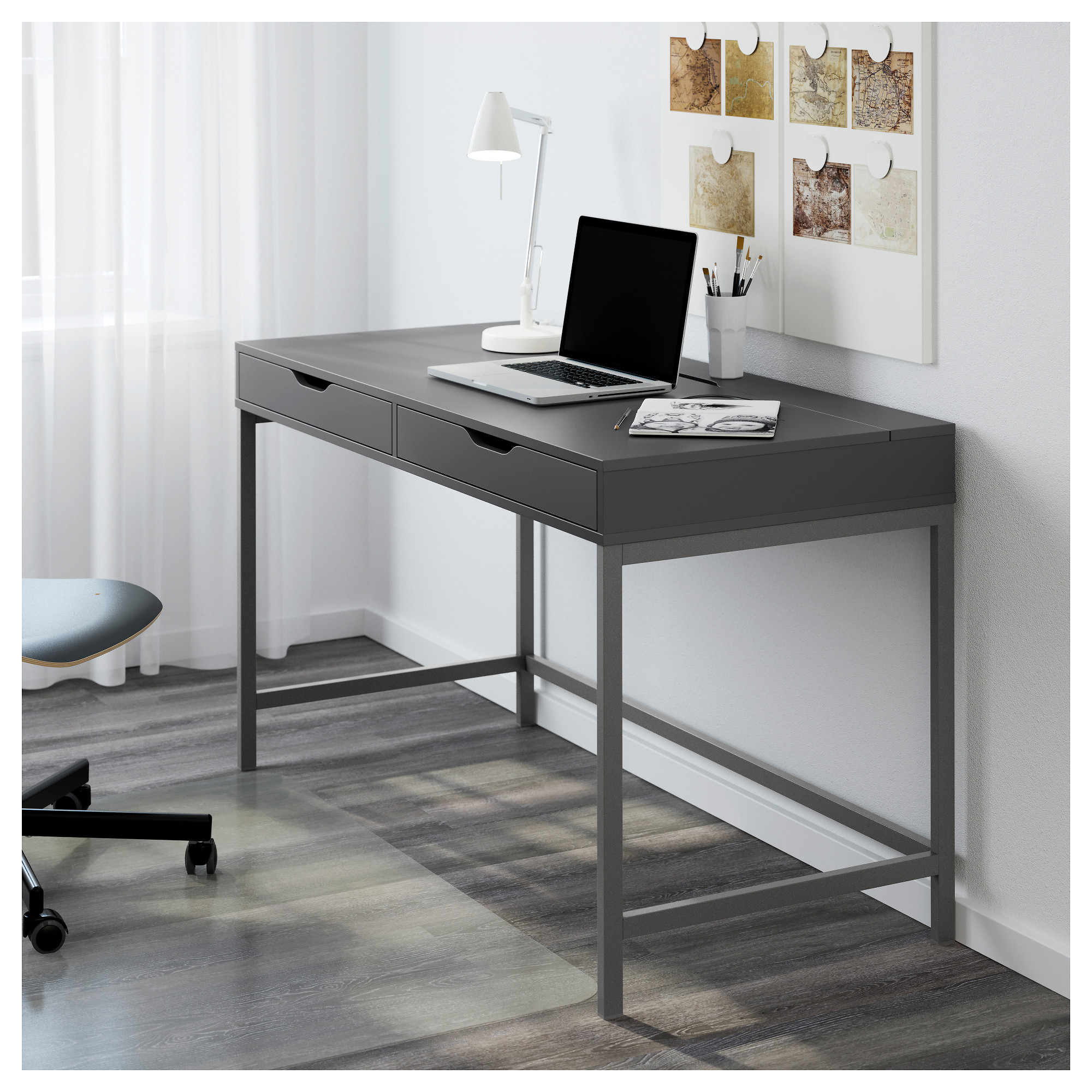 brown ca gray products sit desk ikea office black en bekant stand white catalog