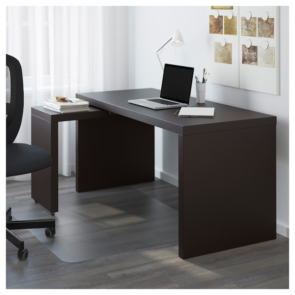 IKEA MALM Desk with pull-out panel