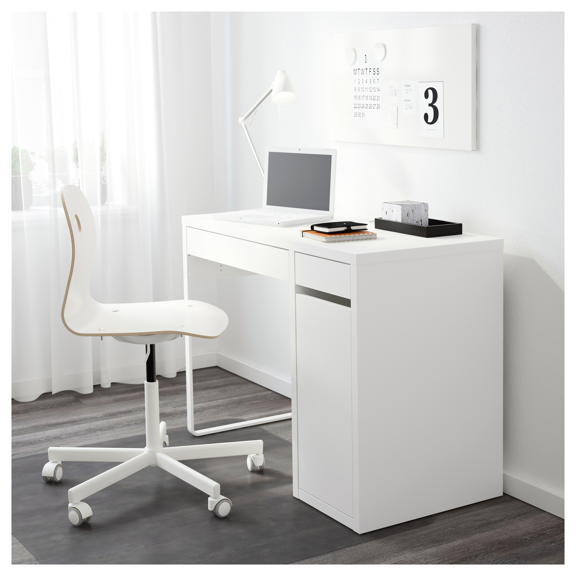Self Assemble Furniture micke desk - white - ikea