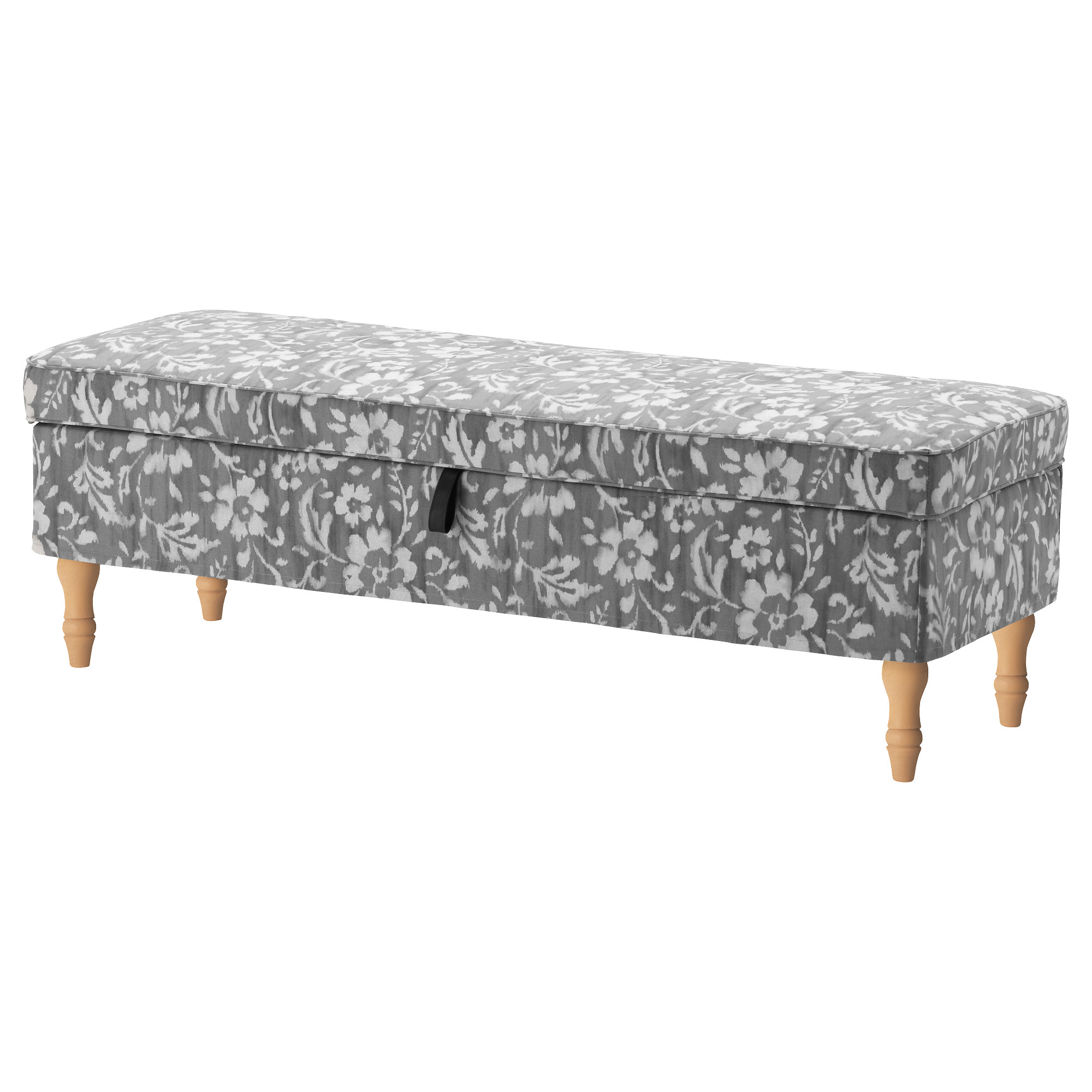STOCKSUND Bench cover Nolhaga gray beige IKEA