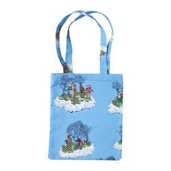 "GLÖDANDE bag, blue Length: 11 ¾ "" Height: 14 ¼ "" Length: 30 cm Height: 36 cm"