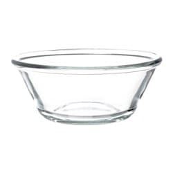 "VARDAGEN bowl, clear glass Diameter: 6 "" Height: 2 "" Diameter: 15 cm Height: 6 cm"