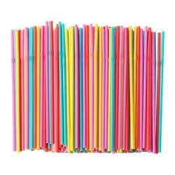 SODA drinking straw, yellow/red, pink/turquoise Package quantity: 200 pack Package quantity: 200 pack