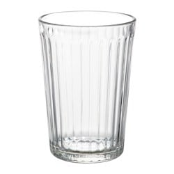VARDAGEN glass, clear glass Height: 10 cm Volume: 20 cl Package quantity: 6 pack
