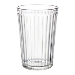 VARDAGEN glass, clear glass Height: 11 cm Volume: 31 cl Package quantity: 6 pack