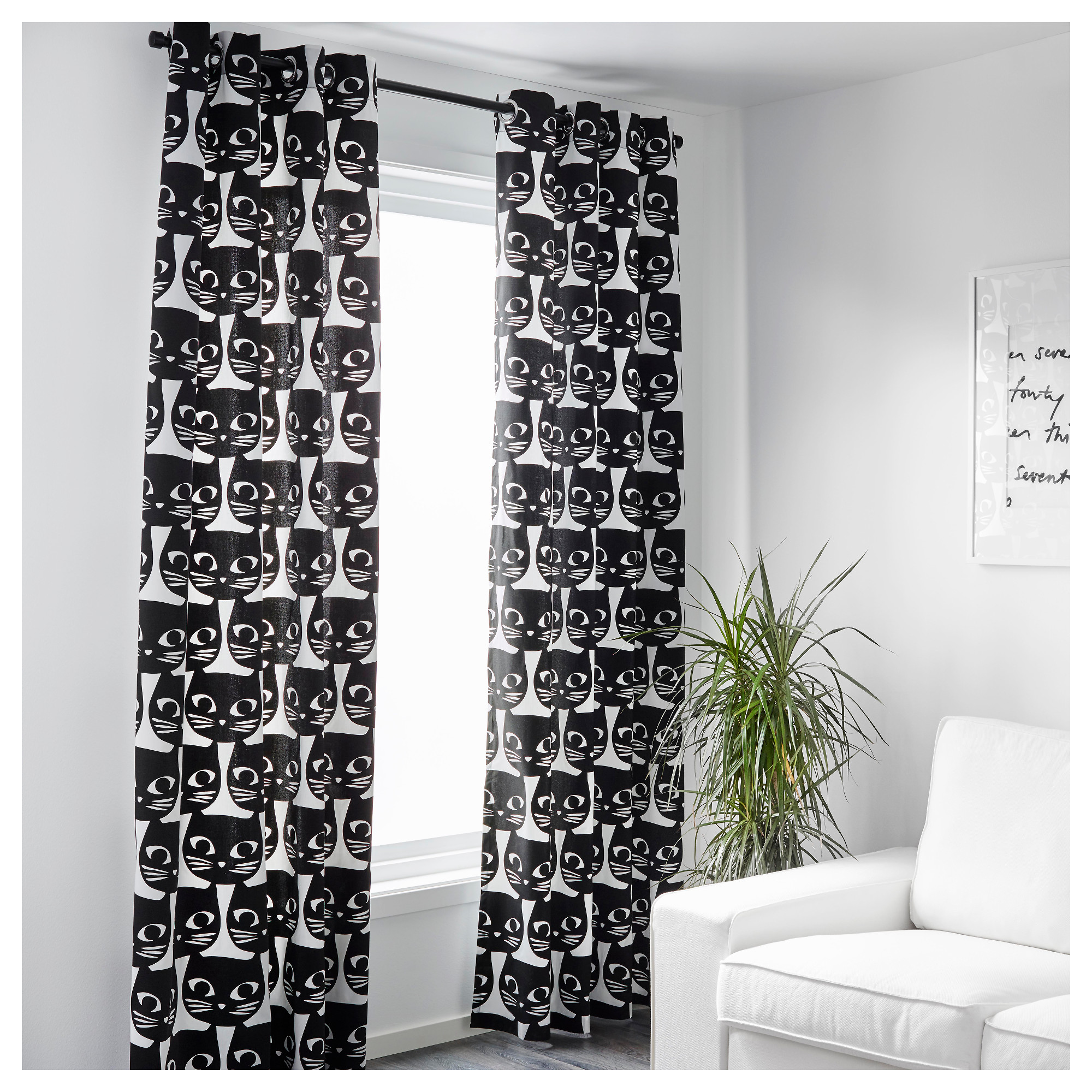 MATTRAM Curtains, 1 pair - IKEA