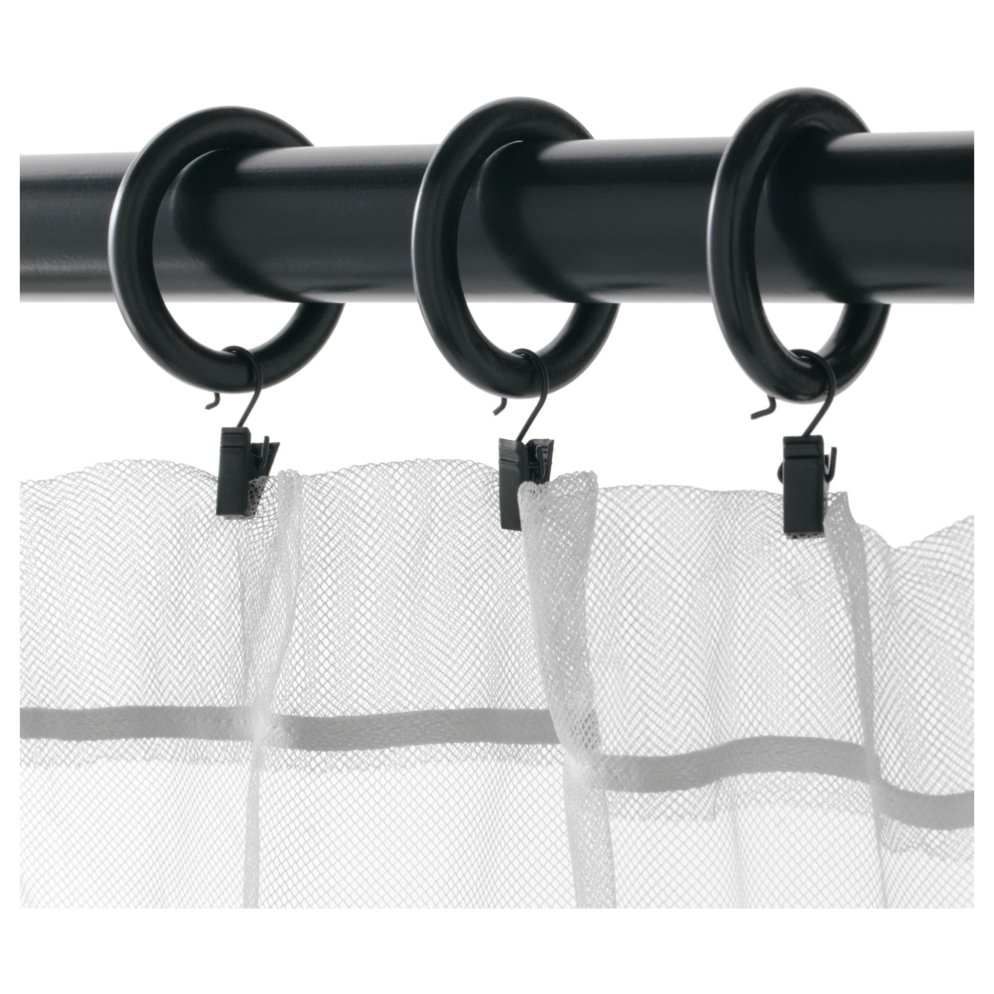 Syrlig curtain ring with clip and hook ikea you can hang your curtains - Syrlig Curtain Ring With Clip And Hook Ikea You Can Hang Your Curtains 9