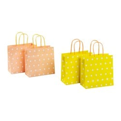 KACKLING gift bag, assorted patterns Width: 15 cm Height: 15 cm Package quantity: 2 pack