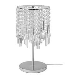 RINNA table lamp, glass prism Height: 45 cm Base diameter: 20 cm